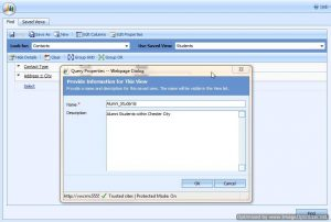 CRM Dynamics Advance Find and Create Views