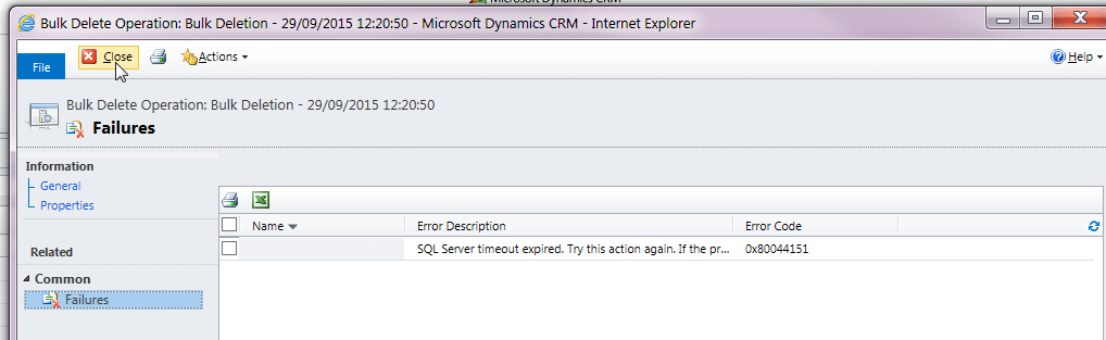 How to Resolve Dynamics CRM Performance Issue