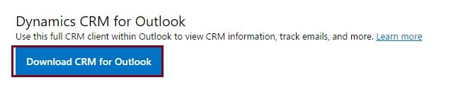 Know about Dynamics CRM app for Outlook
